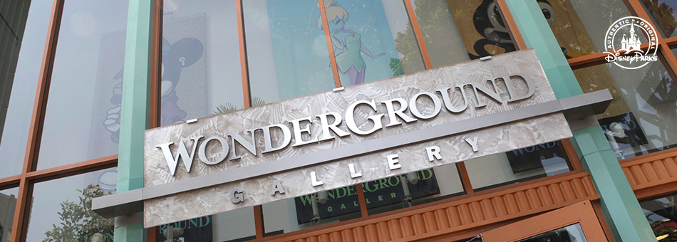 Disney Parks WonderGround Gallery Collection