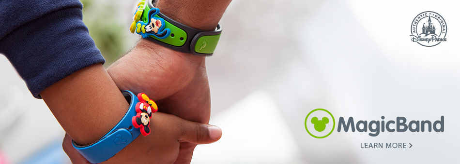 Disney Parks MagicBand - Learn More