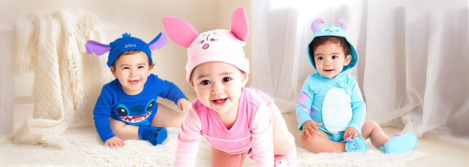 Bodysuits Clothes Disney Baby