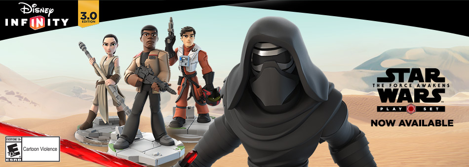 Disney Infinity 3.0 Edition - Star Wars The Force Awakens Play Set - Pre-Order Now - Available to Own December 18