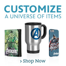 Customizable Avengers Items