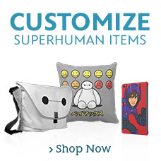 Customizable Big Hero 6 Items