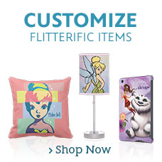 Customizable Tinker Bell & Fairies Items