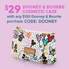 $29 Dooney & Bourke Cosmetic Case with any $100 Dooney & Bourke purchase