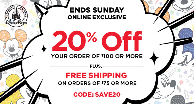 20% Off Your Order Of $100 or More  CODE: SAVE20