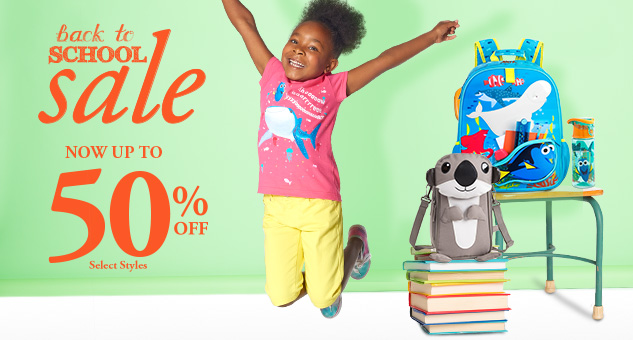 Back to School Sale! Up to 50% Off