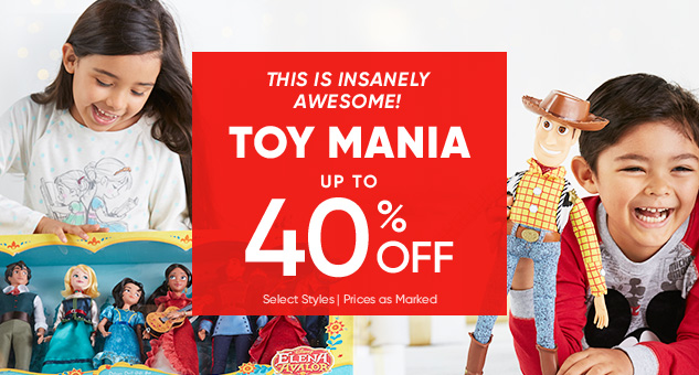Toy Mania! Up to 40% Off Select Toys