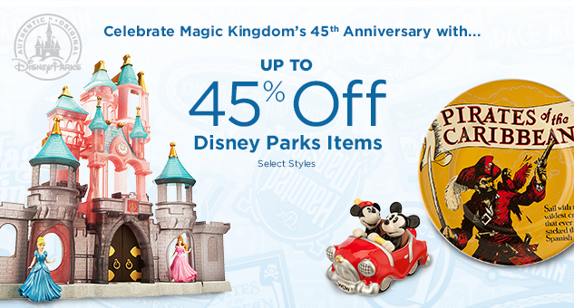 Up to 45% Off Select Disney Parks Items