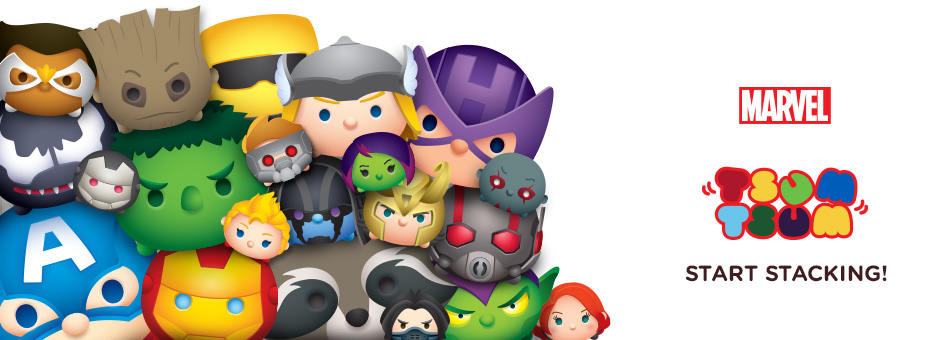 Marvel Tsum Tsum - Start Stacking!