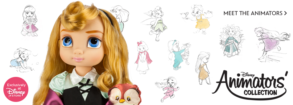 Disney Animators' Collection - Exclusively at Disney Store