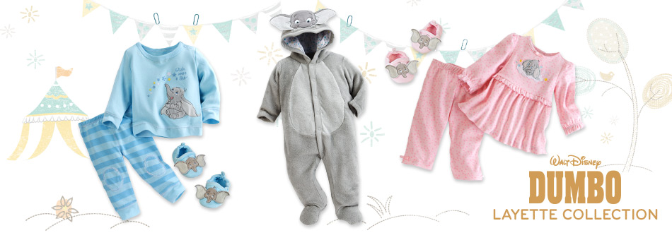 Dumbo Layette Collection