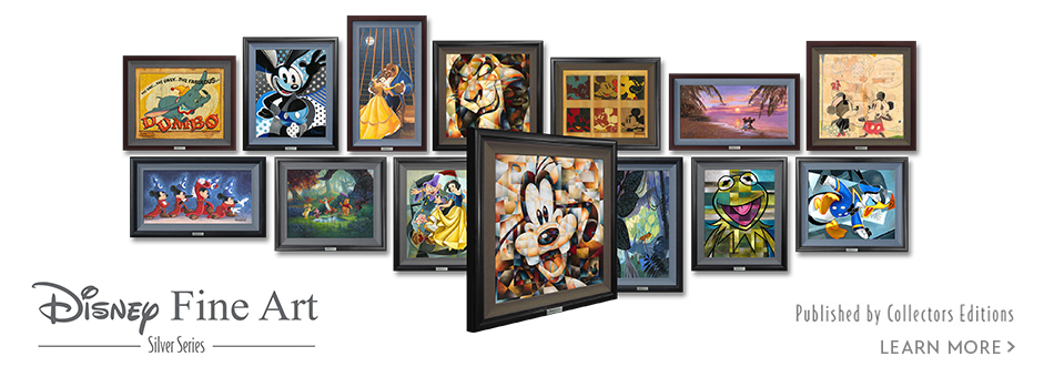 Disney Fine Art - Silver Series - Published by Collectors Editions - Learn More