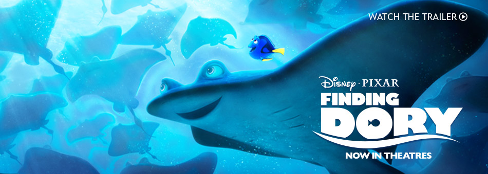 Disney Pixar Finding Dory - Now in Theatres