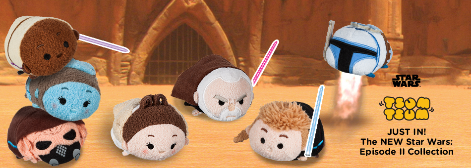 Star Wars Tsum Tsum - Just In! The NEW Star Wars: Episode II Collection