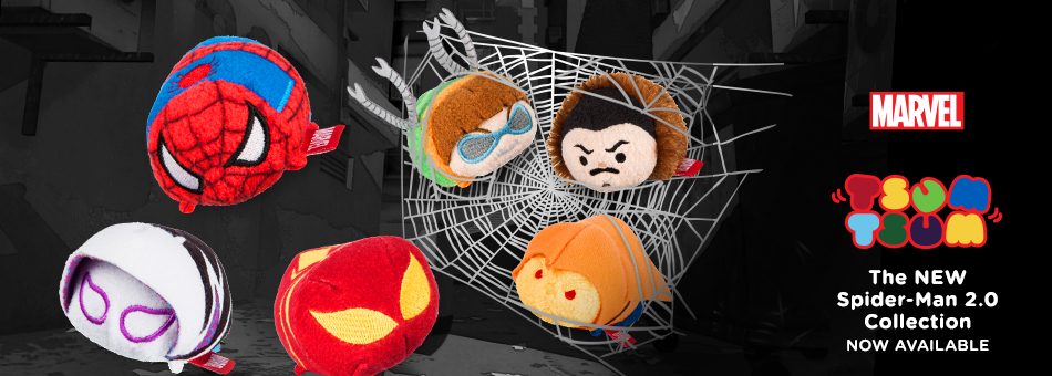 Marvel Tsum Tsum - The New Spider-Man 2.0 Collection - Now Available