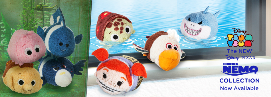 Disney Tsum Tsum - The New Disney/Pixar Finding Nemo Collection Now Available