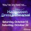 Halloween Dress Rehearsal