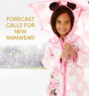 Forecast Calls for New Rainwear!
