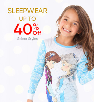 Sleepwear - UP to 40% Off - Select Styles