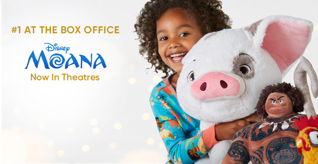 #1 at the Box Office - Disney Moana - In Theatres Today