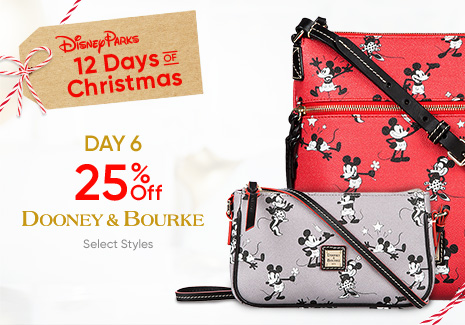 Disney Parks - 12 Days of Christmas - Day 6 - 25% Off Dooney & Bourke Select Styles