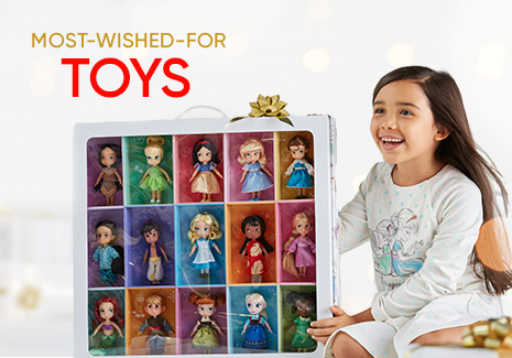 Most Wished For Toys