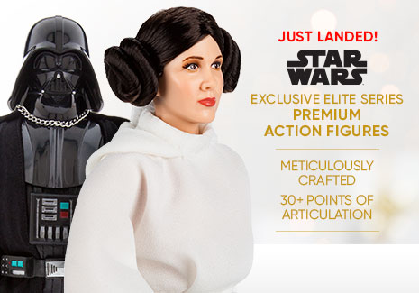 Just Landed! - Star Wars Exclusive Elite Series Premium Action Figures