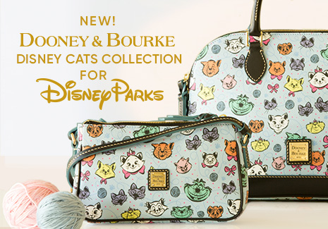 New Dooney & Bourke Disney Cats Collection for Disney Parks