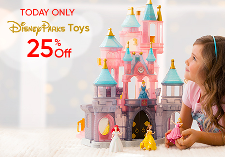 Today Only - Disney Parks Toys 25% Off