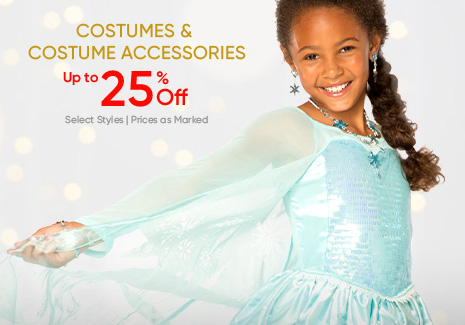 Costumes & Costumes Accessories - Up to 25% Off Select Styles
