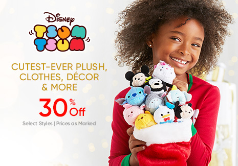 Disney Tsum Tsum - Cutest-ever Plush, Clothes, Decor & More - 30% Off - Select Styles - Prices as Marked