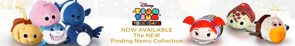 Disney Tsum Tsum Tuesday - Now Avaialble The New Finding Nemo Collection