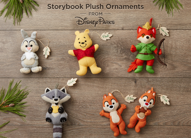 Plush Ornaments