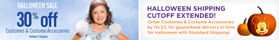 Halloween Sale - Halloween Shipping Cutoff Extended