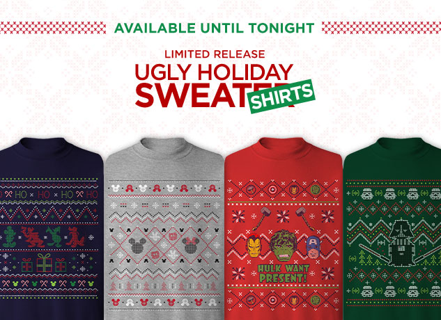 Limited Release Ugly Holiday Sweatshirt