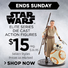 $15 Star Wars Elite Series Die Cast Action Figures