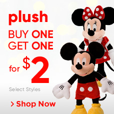 Plush Buy One, Get One for $2
