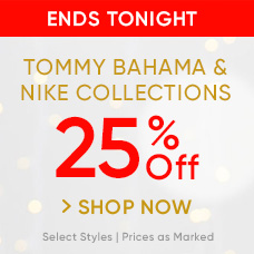 25% Off Nike and Tommy Bahama