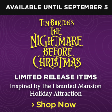 The Nightmare Before Christmas Limited Release Items