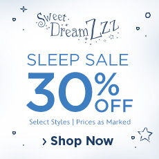Sleep Sale 30% Off