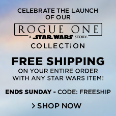 Free Shipping with Any Star Wars Item | CODE: FREESHIP