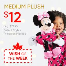 Wish of the Week: $12 Medium Plush