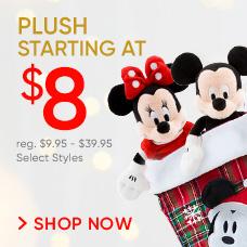 Plush Starting at $8