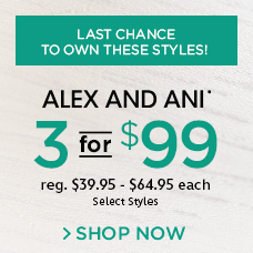 Alex and Ani 3 for $99
