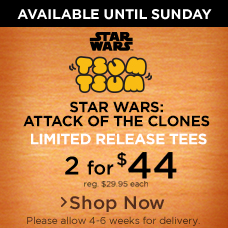 Star Wars Tsum Tsum Limited Release Tees