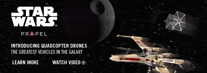 Star Wars Propel - Introducing Quadcopter Drones - The Greatest Vehicles in the Galaxy