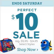 Ends Saturday - Perfect $10 Sale - reg. $12.95-$24.95 - Select styles - Shop Now