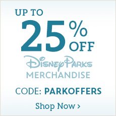Up to 25% Off Disney Parks Merchandise - CODE: PARKOFFERS - Shop Now