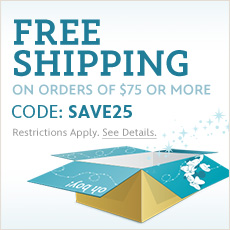 Free Shipping on orders of $75 or more - CODE: SAVE25