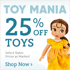 Toy Mania - 25% Off Toys - Select Styles - Prices as Marked - Shop Now